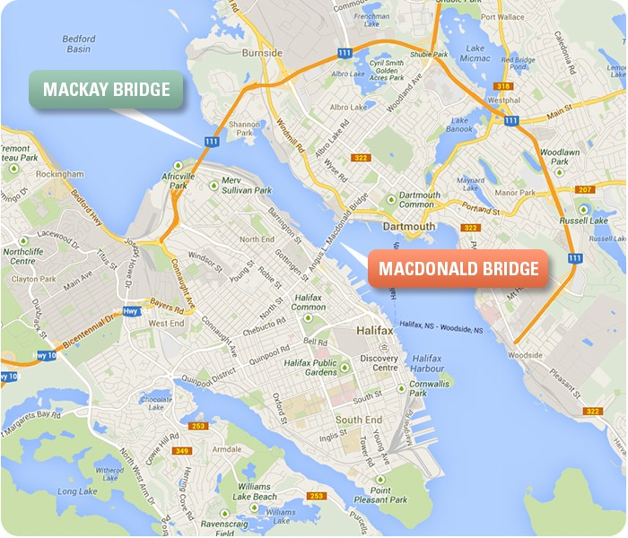 Google_Map_Bridges